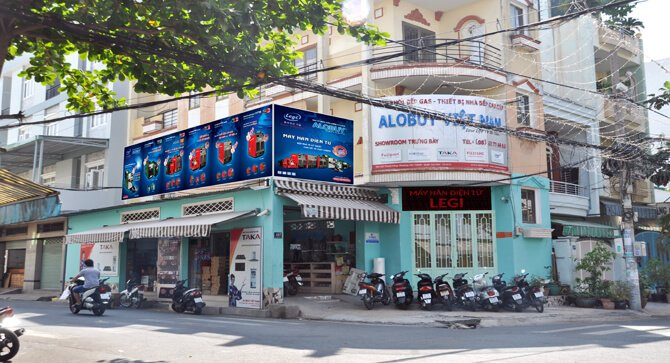Showroom Bếp gas nhập khẩu ALOBUY Việt Nam Tân Phú