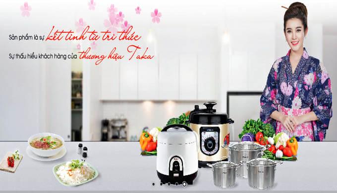 Đại lý bếp gas, thiết bị nhà bếp cao cấp Taka