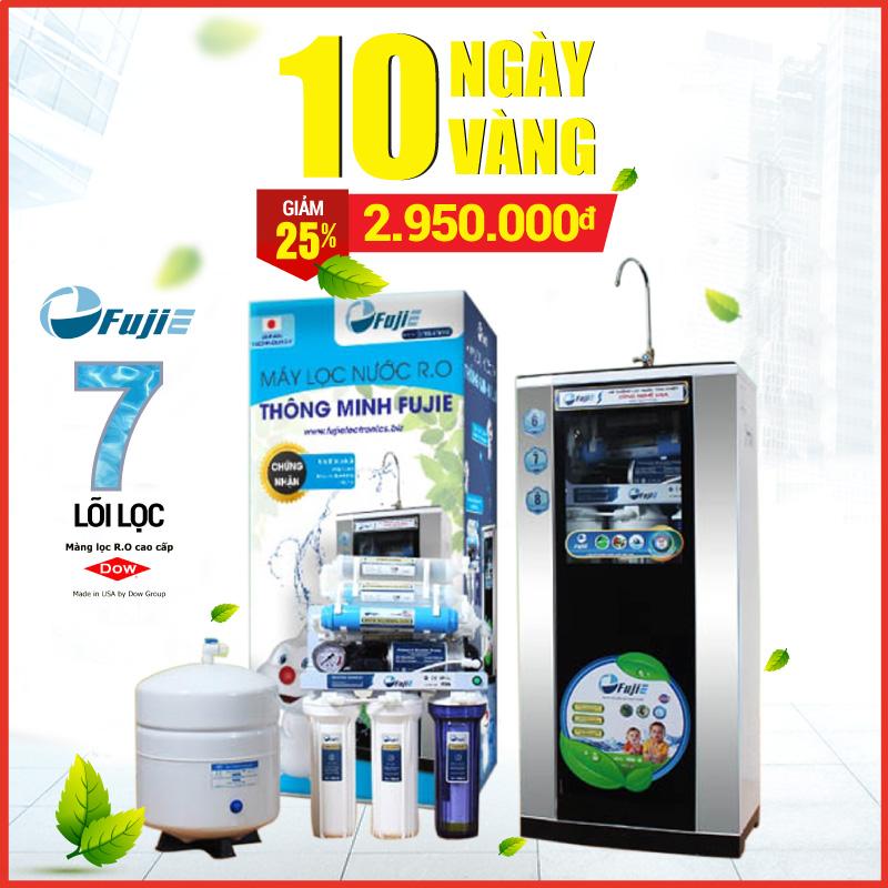 Flash Sales Máy lọc nước RO Fujie Nhật Bản