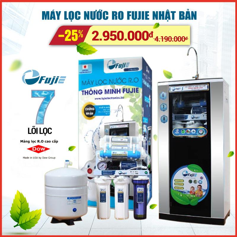 Mã giảm giá Máy lọc nước RO gia đình FujiE