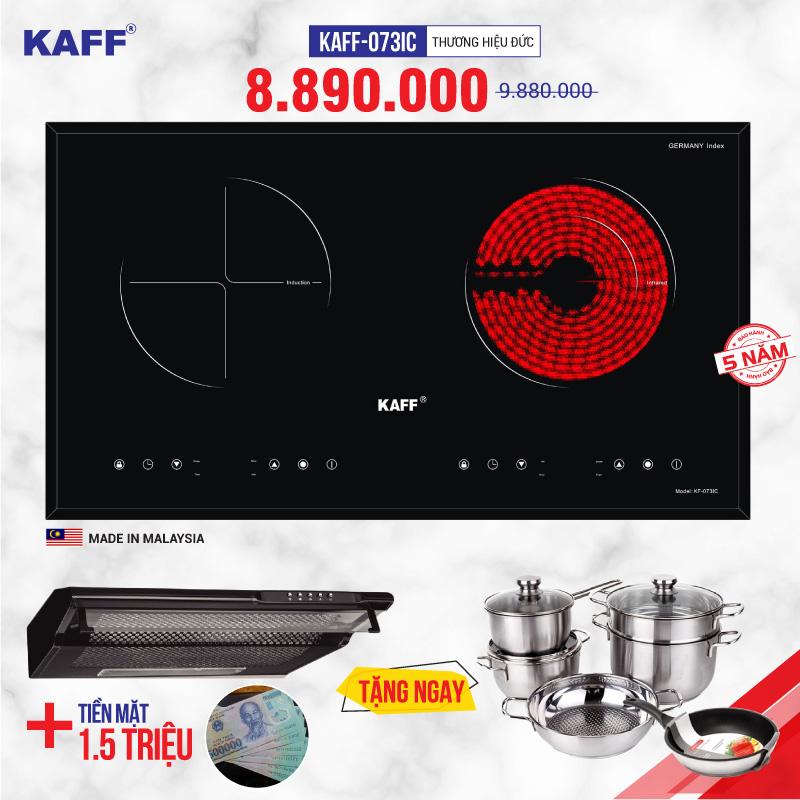 Bếp điện từ đôi, 3 lò KAFF ( Made in Malaysia & Germany) mở bán khuyến mãi