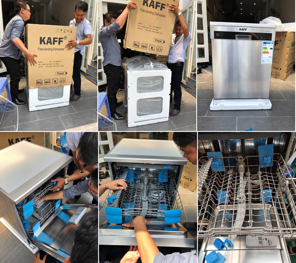 XẢ HÀNG máy rửa chén bát dĩa tự động nhập khẩu