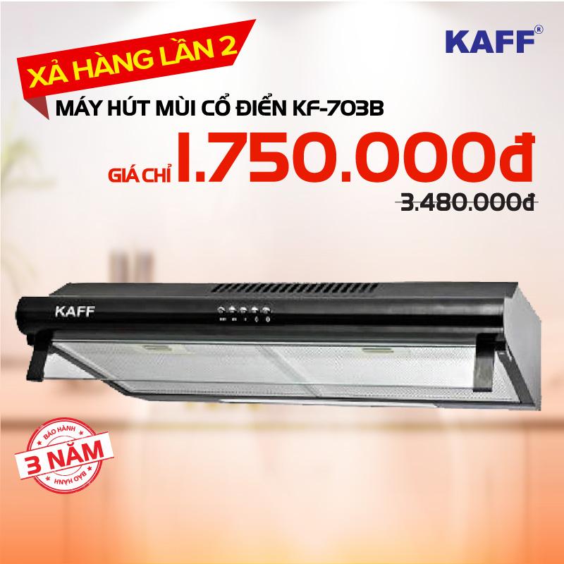 Mã giảm giá Máy hút mùi bếp nhập khẩu KAFF