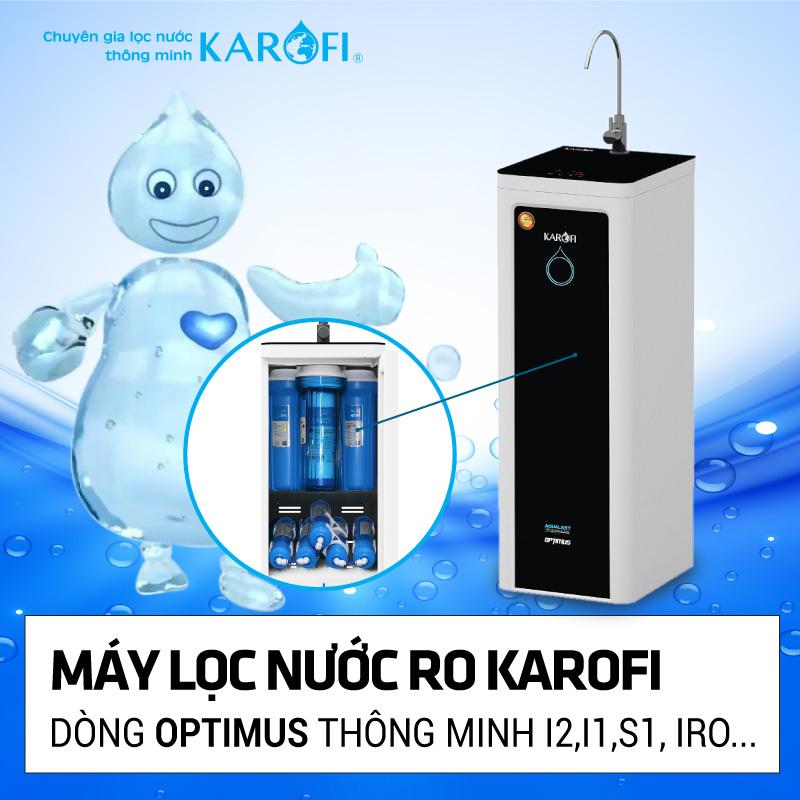 Máy lọc nước RO KAROFI mở bán khuyến mãi lần 2