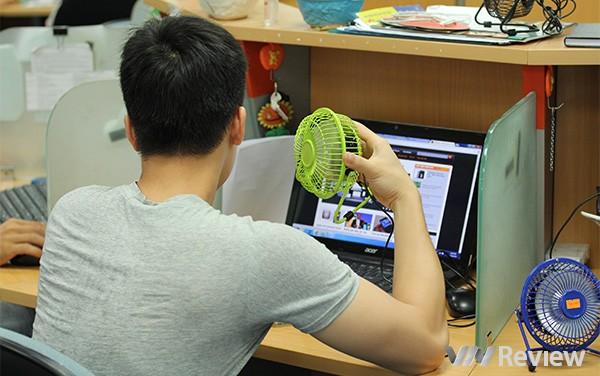 Quạt lồng sắt USB mini 360 dành cho laptop