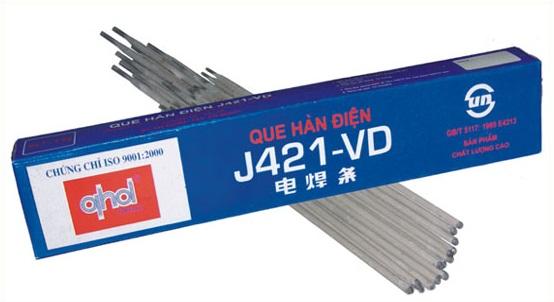Que hàn Sắt Thép Việt Đức J421–VD