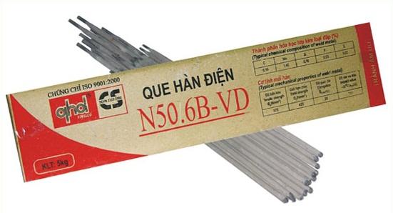 Que hàn Sắt thép Việt Đức N50.6B-VD