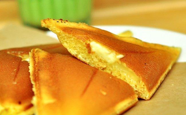 Làm Bánh hot dog tam giác
