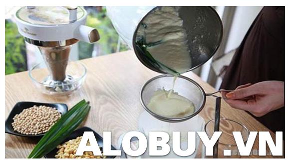 Cách làm sữa đậu nành bằng máy