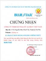 ALOBUY.vn - Đại lý bán hàng thiết bị nhà bếp cao cấp thương hiêu Bluestar