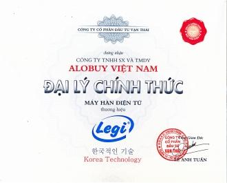 ALOBUY.vn - Đại lý phân phối chính thức máy hàn điện tử LEGI tại Việt Nam