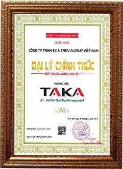 ALOBUY Việt Nam - Chứng nhận Đại lý chính thức Bếp và gia dụng cao cấp TAKA