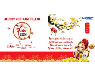 Thư Chúc Tết Xuân Mậu Tuất 2018 từ CEO ALOBUY Việt Nam