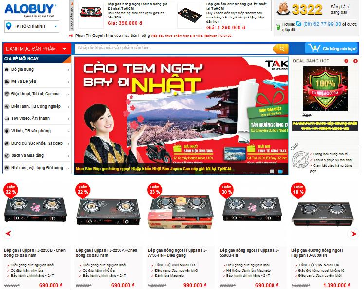 Bếp gas hồng ngoại Công Nghệ Nhật Bản chính hãng giá tốt nhất tại TpHCM