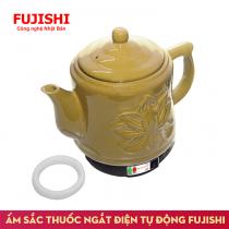 Ấm sắc thuốc điện Fujishi 2.8 Lít Vàng Gold