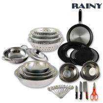 Bộ dụng cụ nhà bếp 40 món Rainy RN40TT