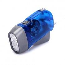Combo 2 Đèn pin sạc tự động bằng bóp tay