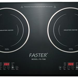 Bếp điện từ đôi FASTER FS-75MI