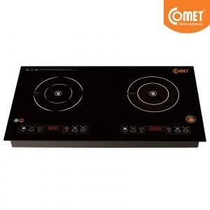 Bếp đôi điện từ và hồng ngoại Comet CM5576