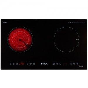 Bếp điện từ đôi hồng ngoại Taka TK-IR2A1