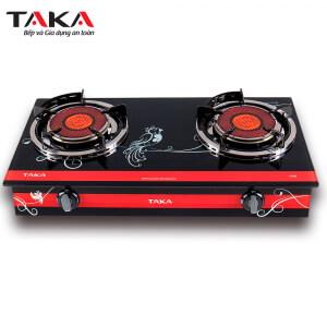 Bếp gas hồng ngoại Taka TK-HG8, Magneto 2 vòng lửa