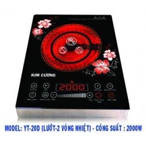 Bếp hồng ngoại Kim Cương YT-20D - L2V