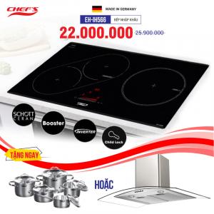 Bếp từ 3 lò cảm ứng CHEFS EH-IH566