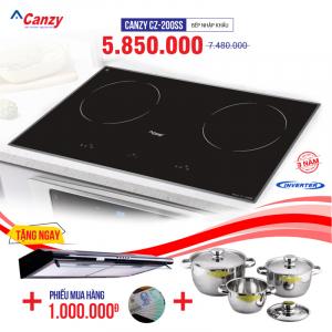 Bếp từ đôi cảm ứng CANZY CZ-200SS