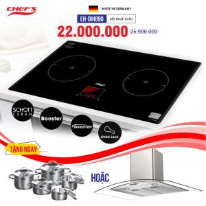 Bếp từ đôi cảm ứng CHEFS EH-DIH890
