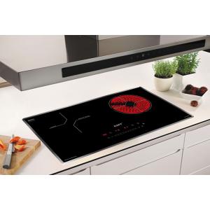 Bếp từ đôi hồng ngoại cảm ứng KAFF HYBRID KF-IH68N