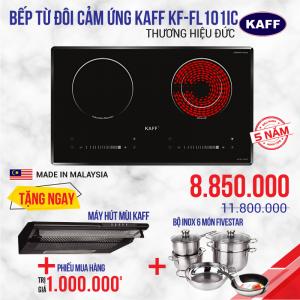 Bếp từ đôi hồng ngoại cảm ứng KAFF KF-FL101IC
