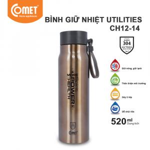Bình giữ nhiệt Utilities 520ml Comet CH12-14 - Gold