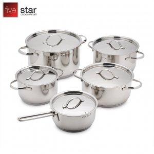 Bộ 5 nồi inox cao cấp Kit Fivestar FS10C
