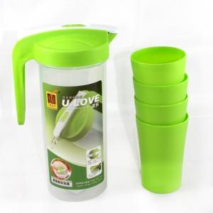 Bộ bình nhựa có 4 ly U.LOVE