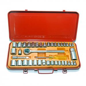 Bộ khẩu mở siết ốc và bugi 40 chi tiết Century TS-23407