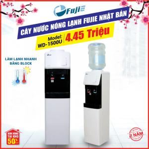 Cây nước nóng lạnh 2 vòi FujiE WD-1500U-KR Black