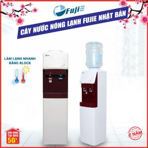 Cây nước nóng lạnh 2 vòi FujiE WD-1500U-KR Red