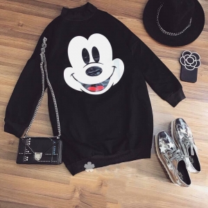 Đầm Hoodie Mickey Leta Belita D489