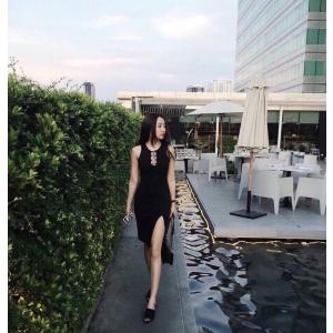 Đầm Ôm Xẻ Tà Leta Belita LD019
