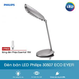 Đèn bàn học chống cận Philips 30507 ECO EYEFI 1 x 18W