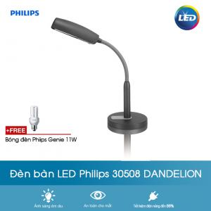 Đèn bàn học chống cận Philips 30508 Dandelion 1x11w