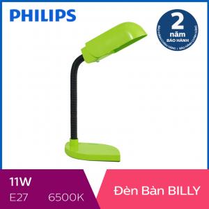 Đèn bàn Philips Billy 11W (Xanh lá)