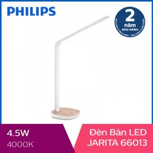 Đèn bàn Philips LED Jarita 66013 4.5W (Vàng)