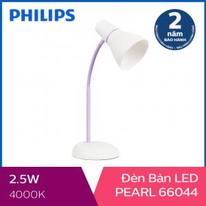 Đèn bàn Philips LED Pearl 66044 2.6W (Tím)