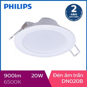 Đèn Downlight âm trần Philips LED DN020B 20W 6500K - Ánh sáng trắng