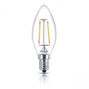 Đèn Led Philips Fila 2.3W-25W E14 2700K B35