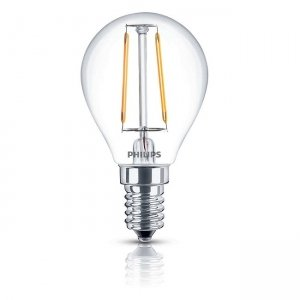 Đèn Led Philips Fila 2.3W-25W E14 2700K P45
