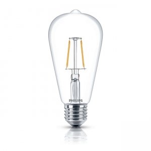 Đèn Led Philips Fila 2.3W-25W E27 2700K ST64