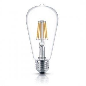 Đèn Led Philips Fila 7.5W-60W E27 2700K ST64