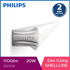 Đèn tường Philips LED Shellline 31172 20W 3000K - Ánh sáng vàng